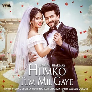 Humko Tum Mil Gaye Song Lyrics from the : The song is sung by Vishal Mishra, Lyrics are Written by lyricsname and the Music was composed by Anand Seshadri, Bobby Shrivastava. Starring Naresh Sharma, Hina Khan. Song Title : Humko Tum Mil Gaye Song Vocals : Vishal Mishra Songwriter : Sayeed Quadri Music : Anand Seshadri, Bobby Shrivastava Cast : Naresh Sharma, Hina Khan Music-Label : VYRL Originals  Humko Tum Mil Gaye Lyrics Jaane kiski lagi Hai yeh dil se dua Humko tum mil gaye Mil gaye  Koi aahat na ki Koi dastak na di Aake rooh mein mere bas gaye Humko tum mil gaye Mil gaye  Main akela tha Ke ghamo ne ghera tha Tu mila toh khushi mil gayi Labon pe mere Thi koi dhun kahan Tu mila mausiki mil gayi Waqt ne the diye Humko jitne zakham Tere aane se woh sil gaye  Jaane kiski lagi Hai yeh dil se dua Humko tum mil gaye Mil gaye  Dil kare tera Oh sanam shukriya Tune kardi haseen zindagi Apne seene mein Woh tujhko de di jagah Ke karunga teri bandagi Ab sada ke liya Faisla kar liya Ek pal naa tere bin jiye  Jaane kiski lagi Hai yeh dil se dua Humko tum mil gaye Mil gaye